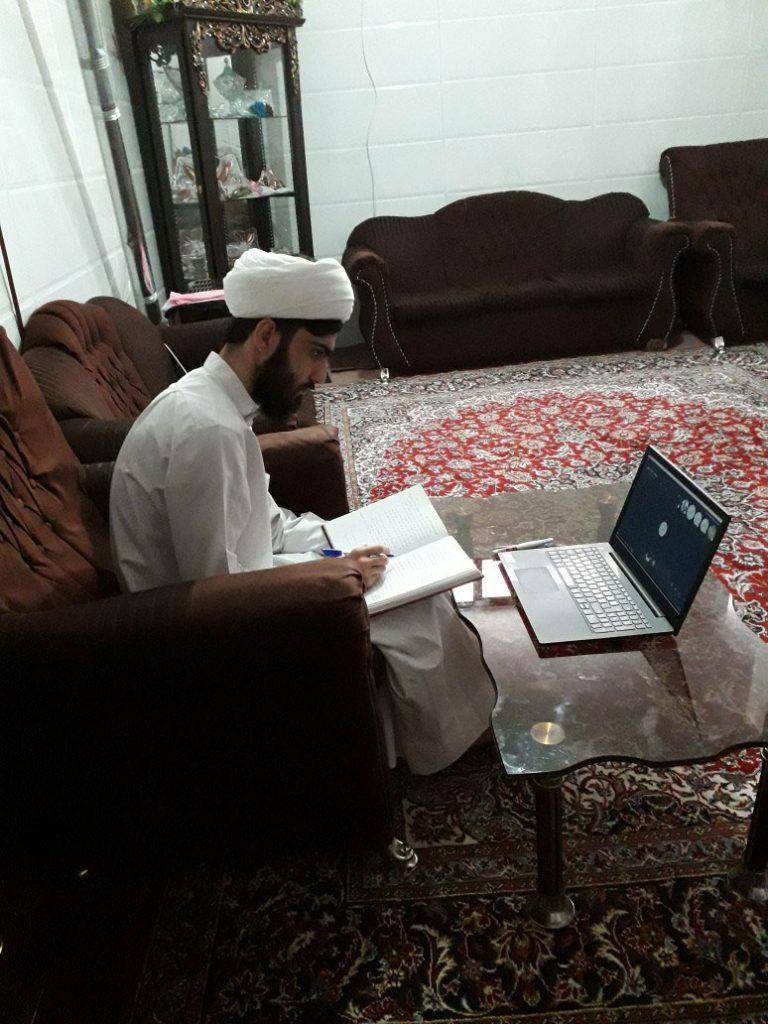 برگزاری کلاس های آنلاین مدرسه عالی فقه و اصول حضرت قائم در ایام کرونا